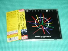 DEPECHE MODE CD+DVD Sounds Of The Universe w/Bonus 2009 Japan TOCP-66878 OBI