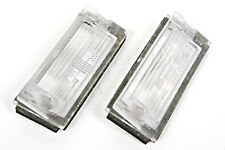 OEM Genuine BMW 3 Series E46 Compact 2003-2005 Number Plate Light Lenses PAIR