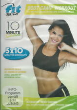 DVD + Fit for fun + Boot Camp Workout + 10 Minuten Workouts + Fitness + Sport