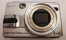 Sony Cyber-Shot DSC-V1 Silver 5.0 MP NightShot Digital Camera with ext strobe
