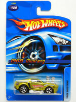 Hot Wheels 1968 Mustang (Yellow metallic) Scale 1/64 DIECAST CAR from Japan