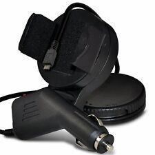 Qualità ✔ Nero Parabrezza Girevole Mount Mini ventosa telefono holder
