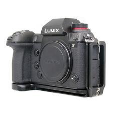 Aluminum Camera L Bracket Hand Grip Holder Plate for Panasonic Lumix S1 S1R