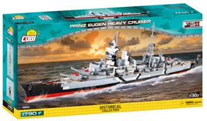 Cobi 4823 Prinz Eugen Heavy Cruiser Bausatz 1790 Teile