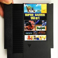 143 in 1 Classic NES Nintendo Multi Cartridge Zelda Contra Mario Save Game Card