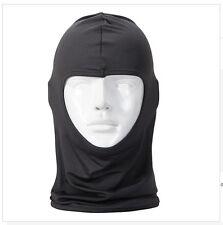 Solid Dark Grey Polyester Microfiber Balaclava Ninja Swat Face Mask Biker ATV