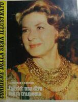 CORRIERE DELLA SERA ILLUSTRATO N.47 1980 INGRID BERGMAN