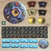 Warhammer Quest Silver Tower Full Set Of Tokens / Counters