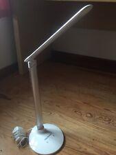 Tecknet Modern LED White Desk Lamp