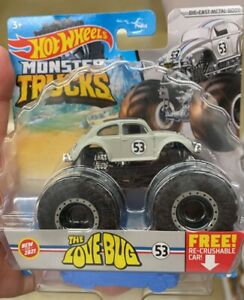Hot Wheels Herbie The Love Bug Monster Truck