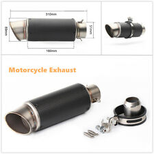 Motorcycle Dirt Bike Exhaust Pipe Muffler Tailpipe 51mm Inlet Universal Fitment