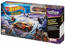 Hot Wheels Marvel Guardians of the Galaxy Rocket's Talespin Takedown Track Set