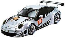 Porsche 911 Gt3 RSR #77 le Mans 2013 Spark Argento 1 18