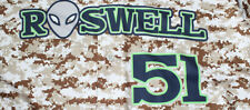 2020 Roswell Invaders Desert Digital Camo Game Jersey Rawlings