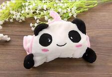 White Panda Children Nursery Hand Towel Soft Plush Hanging Wipe Bath Towels