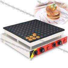 Eléctrico Antiadherente comercial 4.5cm Redonda Mini Pancake Maker Máquina Baker