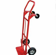 600 lb Cap 2-in-1 Convertible Hand Cart Truck Trolley Moving Dolly New