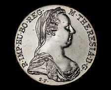 (1780)-SF Maria Theresa Thaler Silver Restrike - UNCIRCULATED EXAMPLE!!!