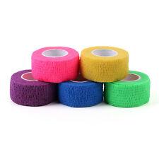 5 roll Self-Adhesive Precision Flex Wrap Finger Bandage Strip Nail Art Tips Tape