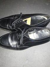 Florsheim Imperial Black Leather Plain Toe Blucher Oxford Men's Size 12 D