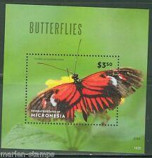 "MICRONESIA 2014 ""BUTTERFLIES II"" SOUENIR SHEET"