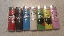 New 7 x BIC Lighter J3 Smile Edition. (Angry, Sad, Happy, Lovely etc) Full Set