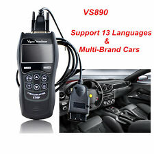 Universal ALL Car Fault Reader Code Scanner Diagnostic Tool OBD2 CAN RESET VS890