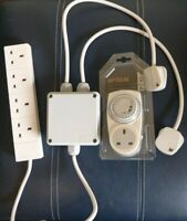 Gro-lec Grow Light Timer / Contactor 4 Way Grasslin Hydroponics Lighting Control