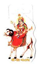 Traditional Shree Gel Mataji Paper Adhesive Sticker – Hindu Religious Sticker