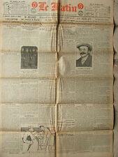 LE MATIN (12/3/1921) Accord franco-turc - L'hélicoptère - Rescapé prisons soviét