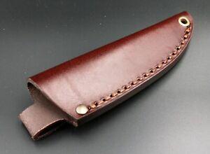Bobtail 80 Lederscheide für Klingenlängen von 75-85 mm braun Messerscheide