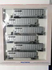 HO Scale - Walthers 932-5304 Norfolk Southern #1 Bethgon Hoppers (6)-Pack Trains