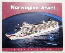 ms Norwegian Jewel . Cruise Line Pocket Deck Guide Ship Ocean Liner Fact List