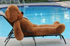 "Joyfay® 78"" 200cm Dark Brown Giant Teddy Bear Huge Stuffed Toy Valentines Gift"