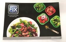 NEW Beachbody The Portion Fix Eating Plan Learning Diet Book Portion Control