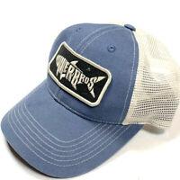 Howler Bros Brothers Silver King Trucker Hat Cap Blue Beige Logo Strapback Mens