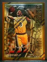 1996 Topps Finest W/Coating Kobe Bryant #74 Rookie RC Lakers Centered! High MINT