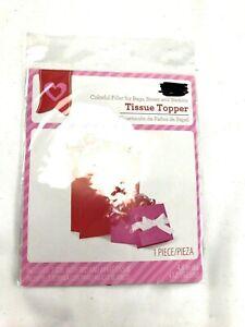 Tissue paper topper shred white NIP Christmas Valentine