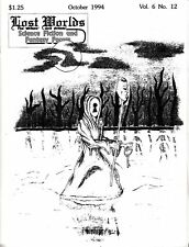 Lost Worlds October 1994 1990s Science Fiction Fantasy Forum Zine Concord NC