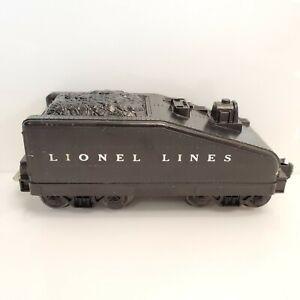 Vintage Lionel Trains 1050T Coal Tender Slope Back Black Scout USA HTF