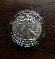 1940 SILVER WALKING LIBERTY HALF DOLLAR.  CHOICE GEM/BU CONDITION !!