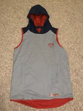 Nike Men's Dri Sports Sleeveless Hooded Grey Training Top Size Small S - Futbol