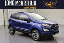 2020 Ford EcoSport Ses 4Wd Moonroof Blind Spot Monitor Msrp$28595