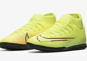 Nike Mercurial Superfly 7 Club MDS Indoor Soccer Shoes BQ5417-703 Youth Sz 6Y