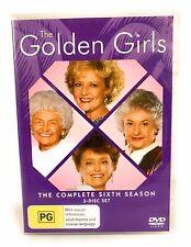 The Golden Girls: Season 6 DVD Region 4 Free Postage