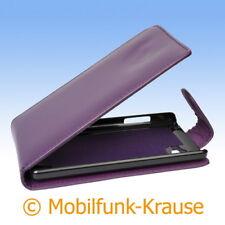 Flip Case Etui Handytasche Tasche Hülle f. LG P880 Optimus 4X HD (Violett)