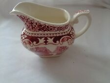 Maastricht Cambridge Old England  Made In Holland Pink/Red Creamer