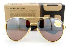 New Costa Del Mar  Sunglasses SOUTH POINT Gold Silver Mirror 580P POLARIZED