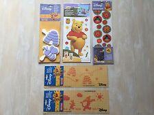 Lot de Décoration murale Winnie Disney : stickers/tampons/pochoirs NEUFS -70%