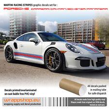 Martini Racing stripes for Porsche Carrera / Cayman / Boxster